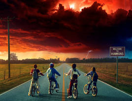 Stranger things season 2 xe 2560x1600